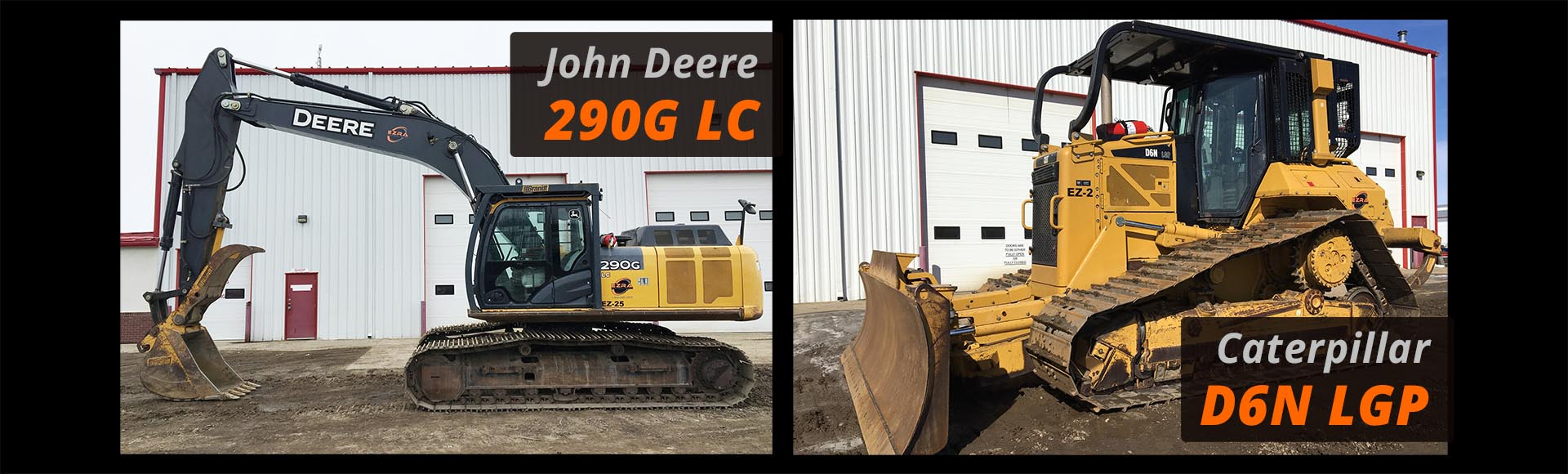 Ezra Rentals and Sales Dozers and Excavators