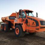 EZRA rentals and sales heavy equipment for rent in grande prairie ab Doosan DA30 Rock Truck