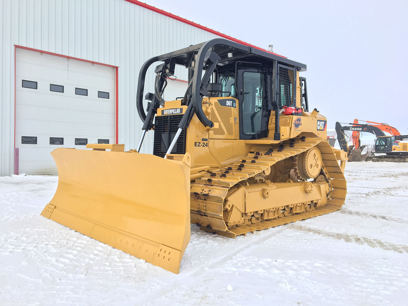 EZRA rentals and sales heavy equipment for rent in Grande Prairie AB Caterpillar D6T LGP